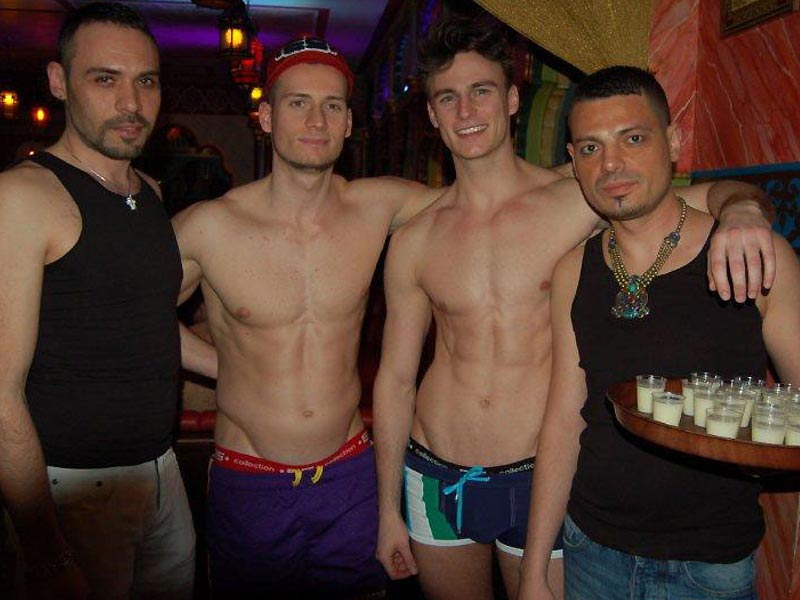 from Carson gay sauna bar wien