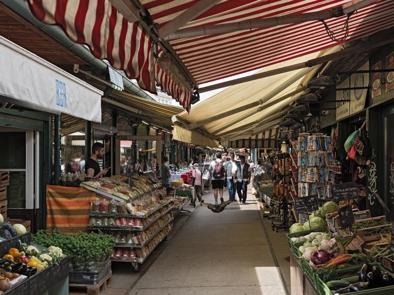 Naschmarkt Market Vienna