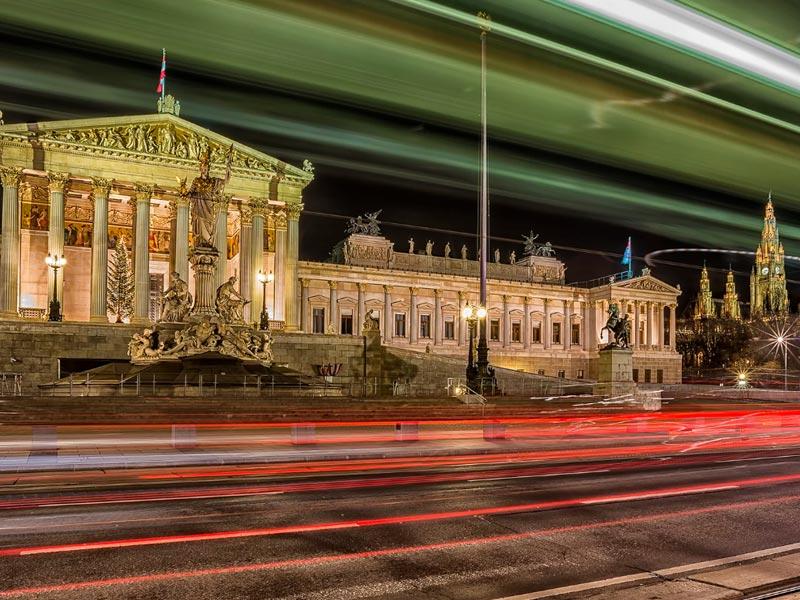 The Ringstrasse Vienna